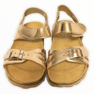 Maria Bianca gold sandals Toddler size 10